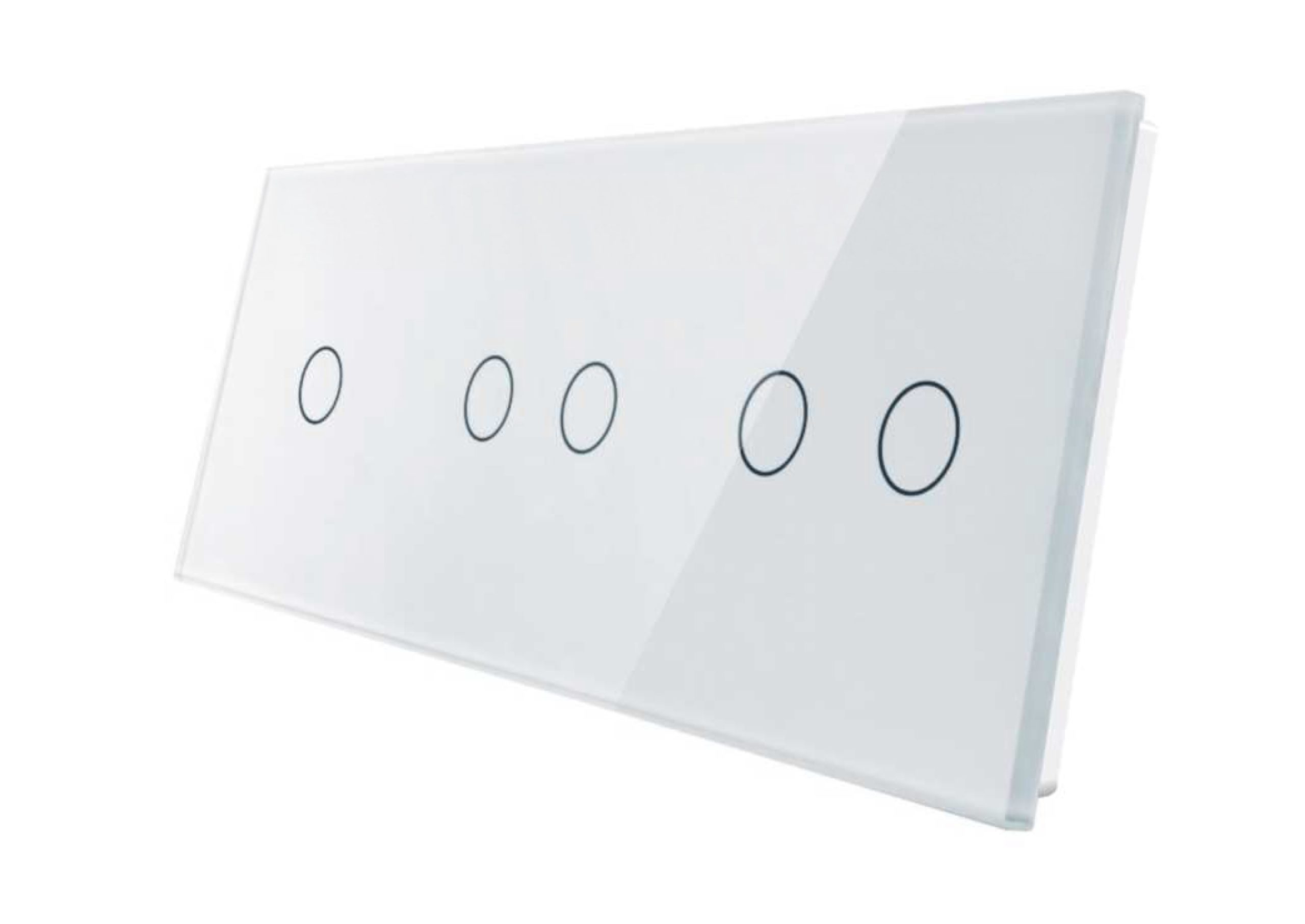1+2+2 panel biały