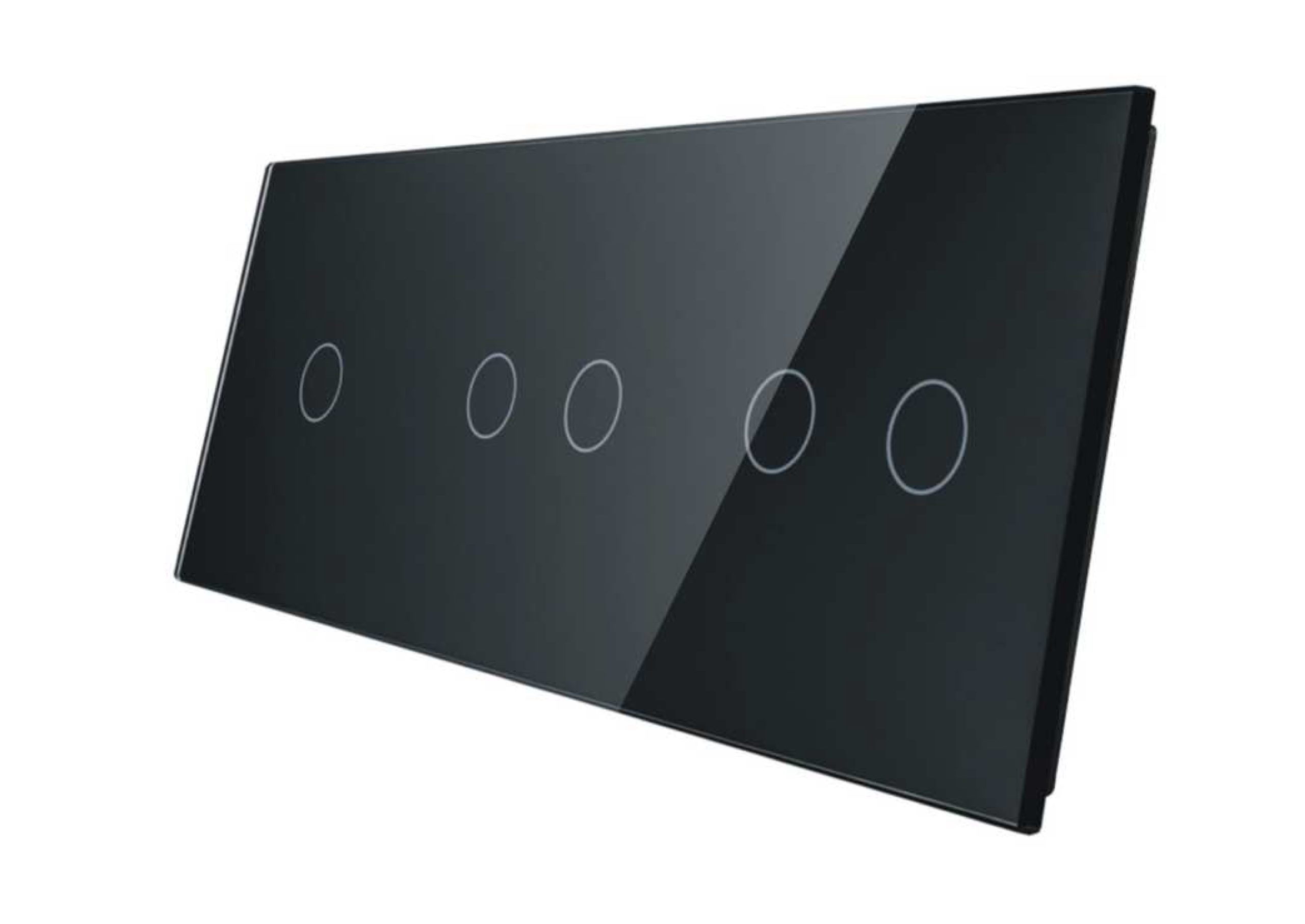 1+2+2 panel czarny