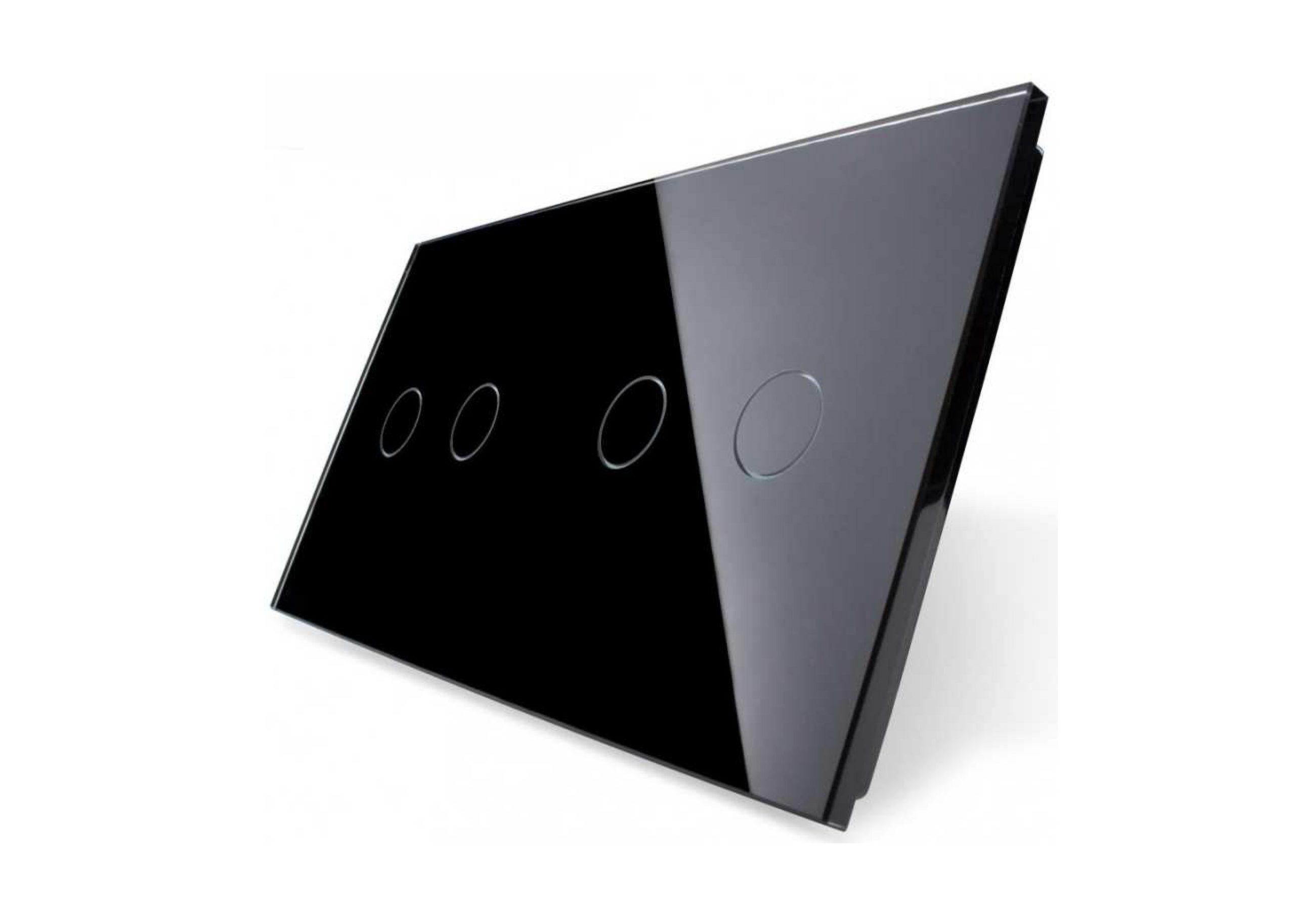 2+2 panel czarny