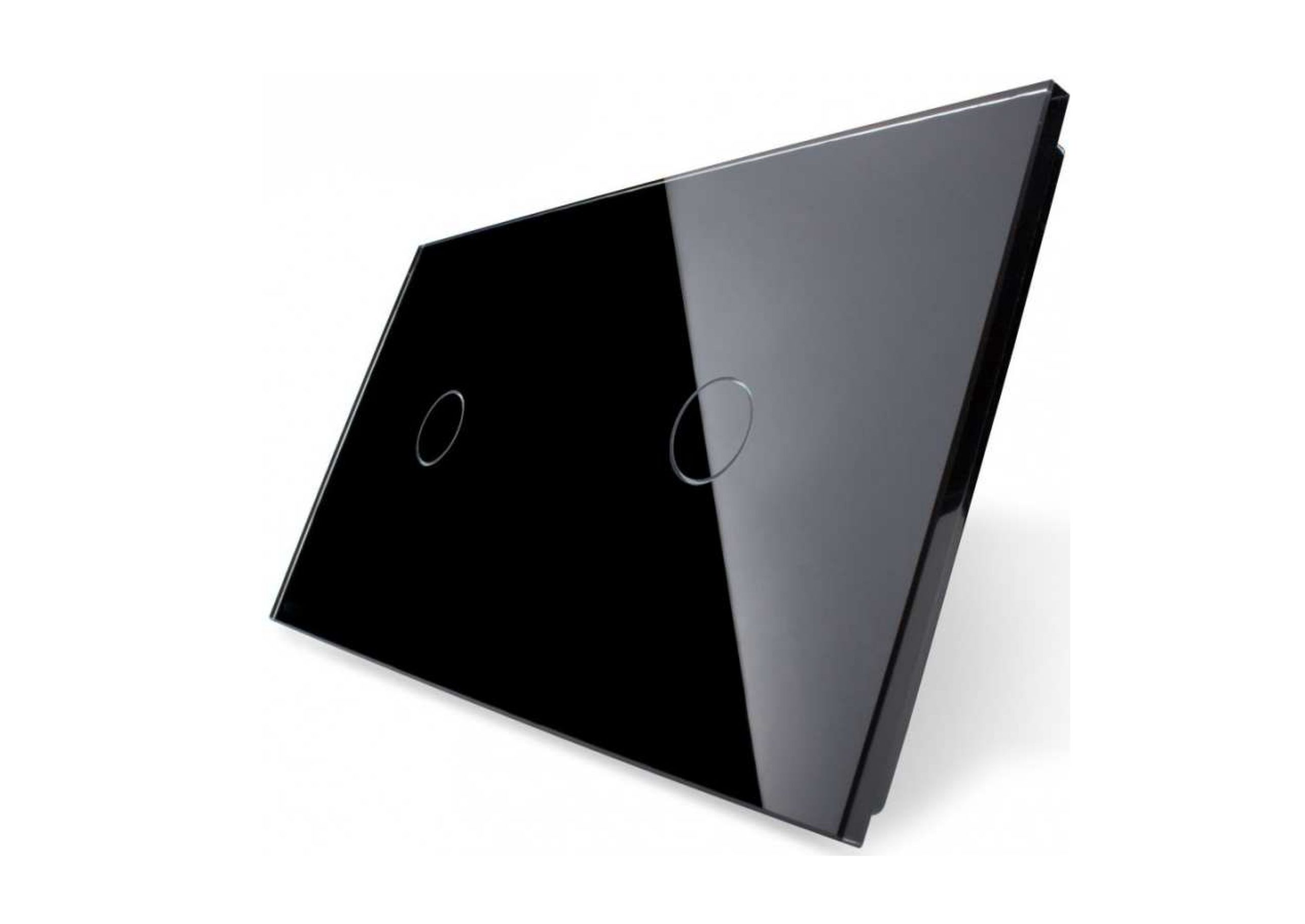 Pojedynczy + pojedynczy czarny panel s