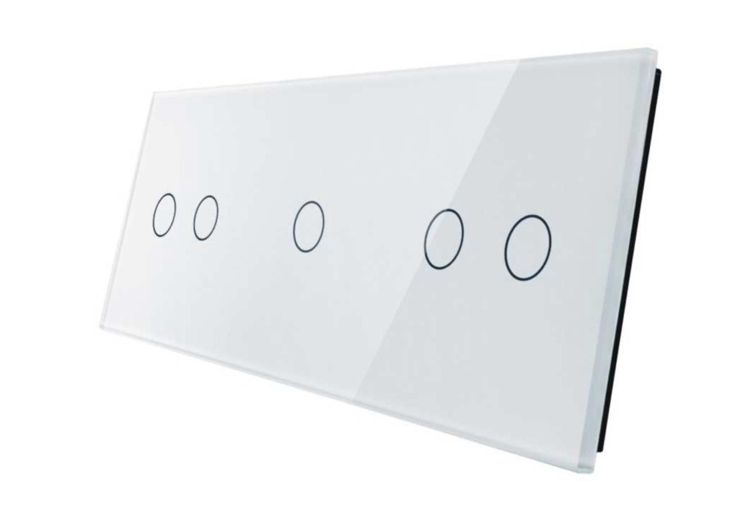 2+1+2 panel biały