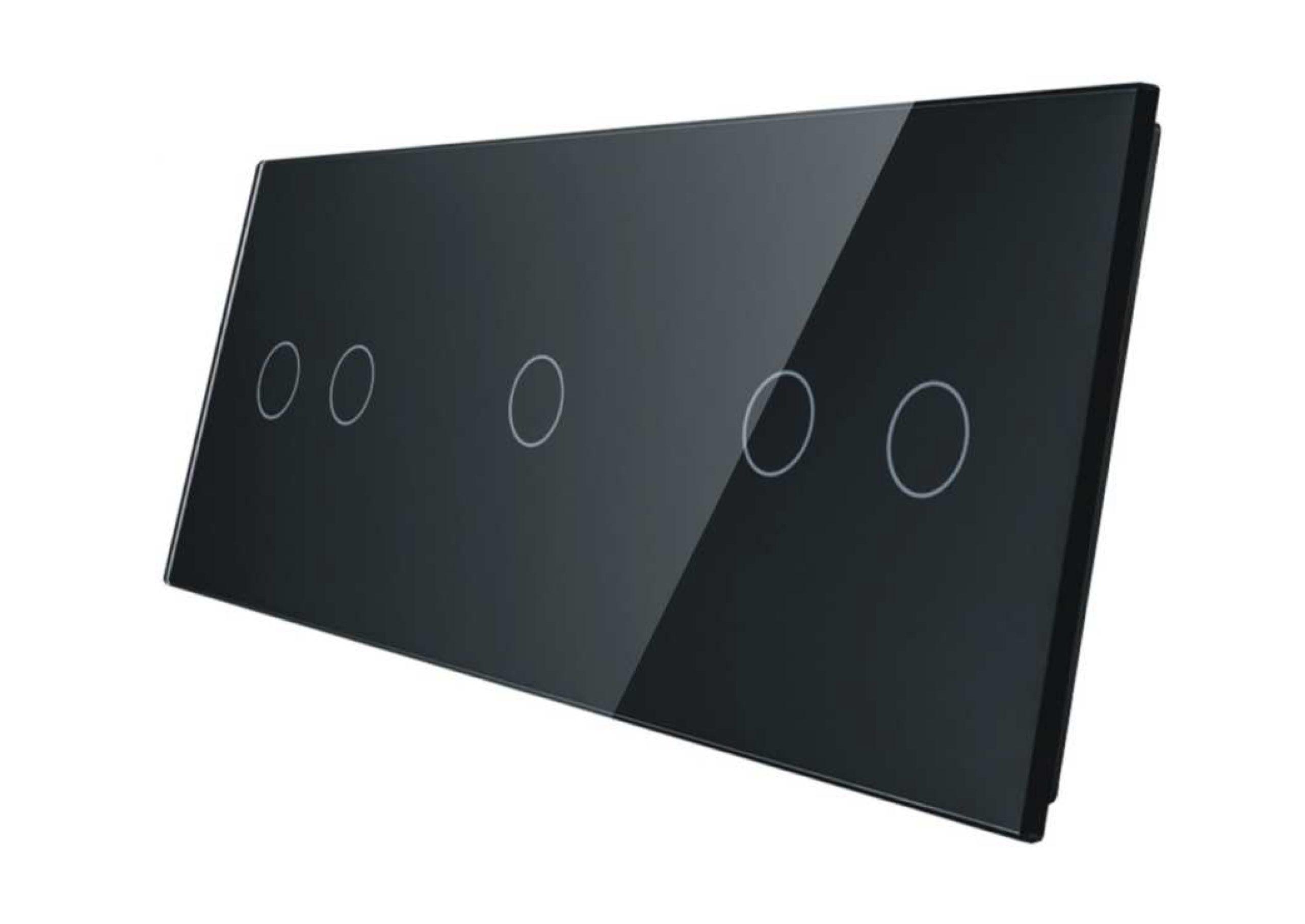 2+1+2 panel czarny