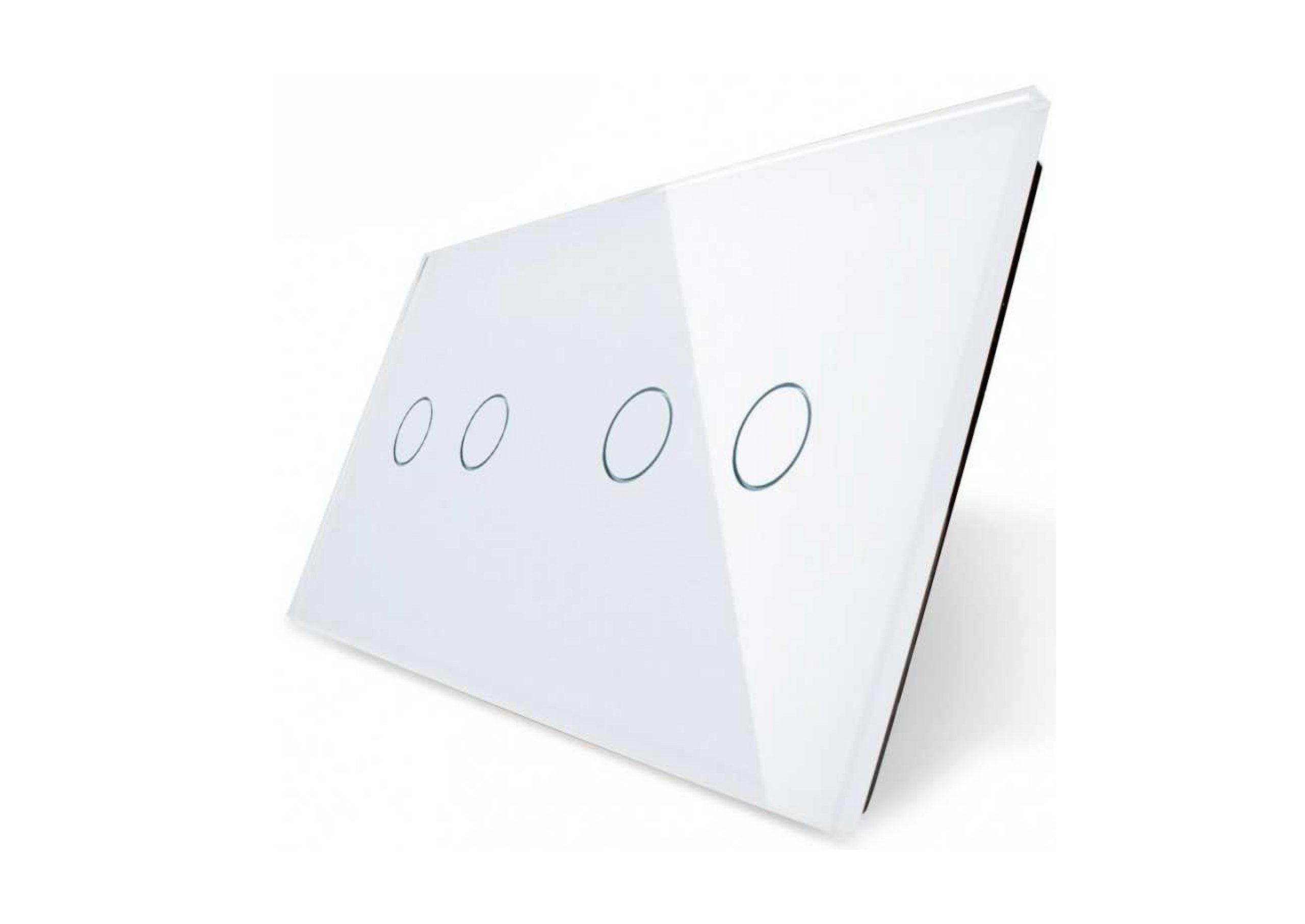 2+2 panel biały