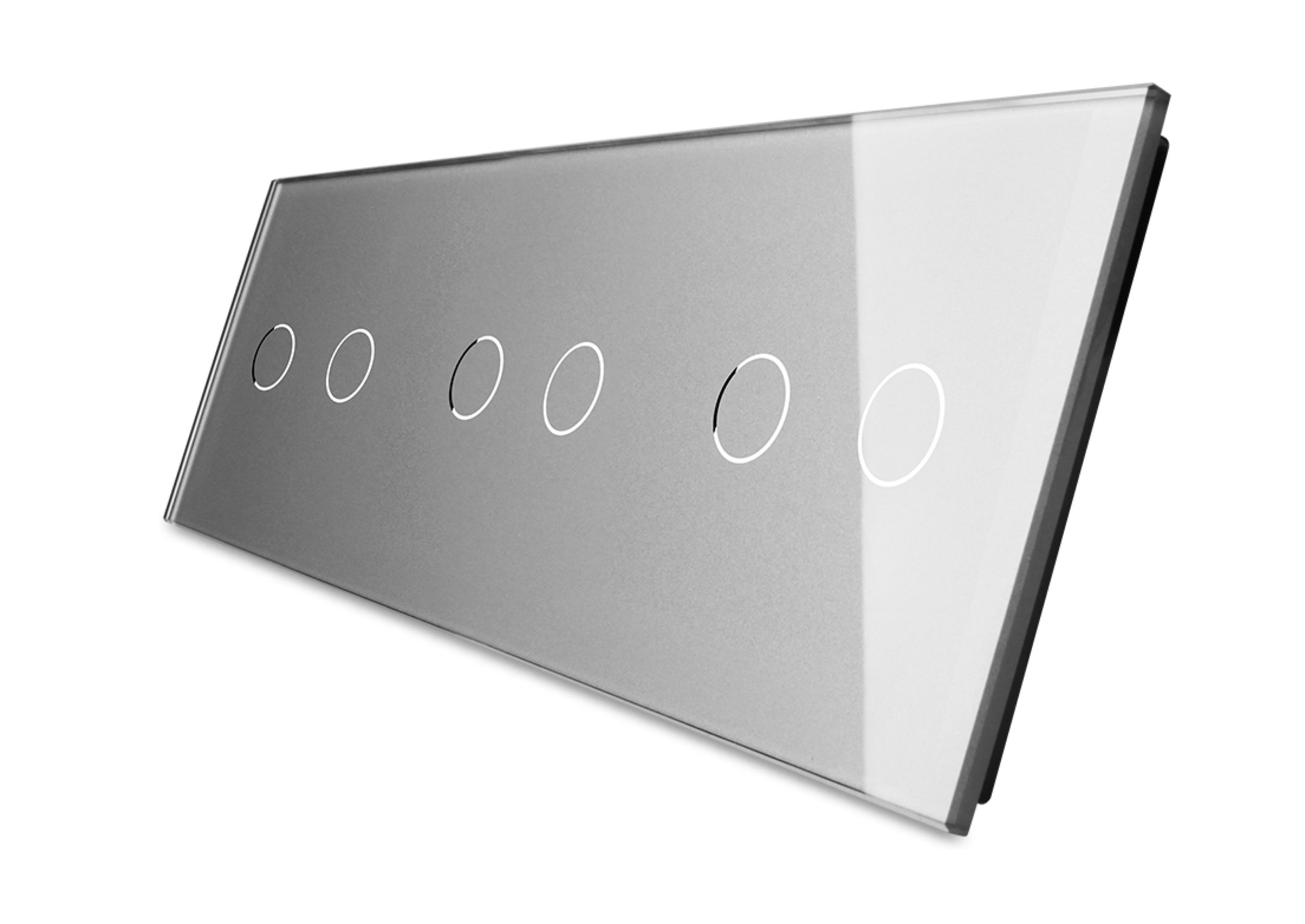 2+2+2 panel srebrny