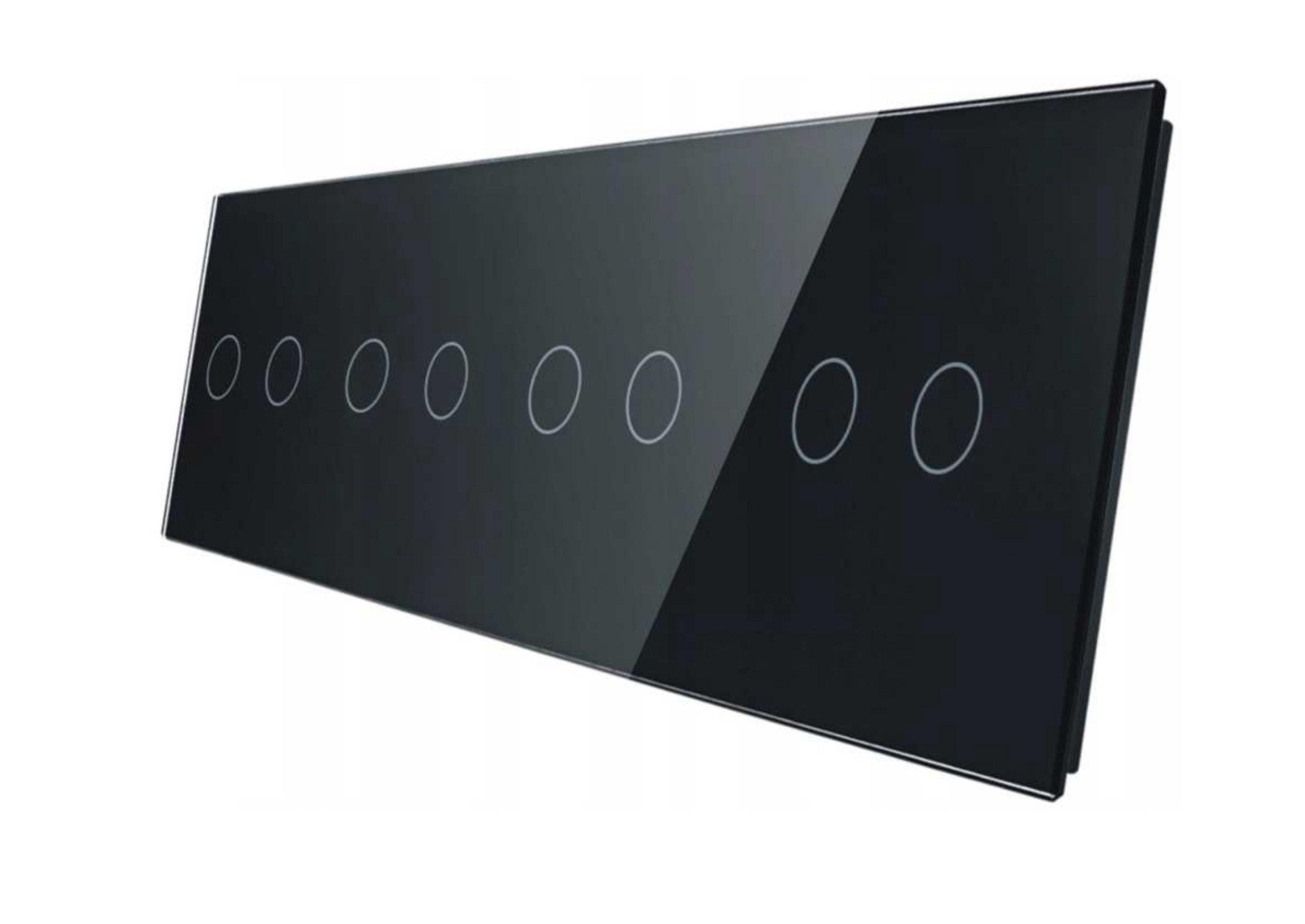 2+2+2+2 panel czarny