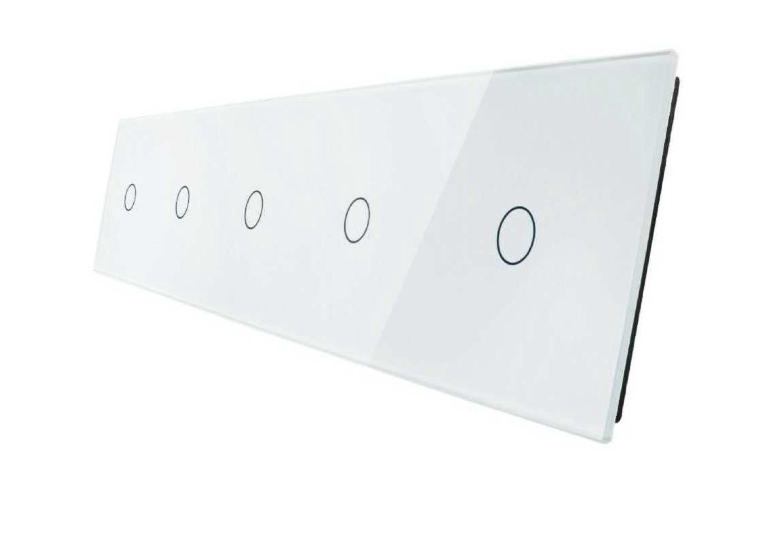 1+1+1+1+1 panele biały