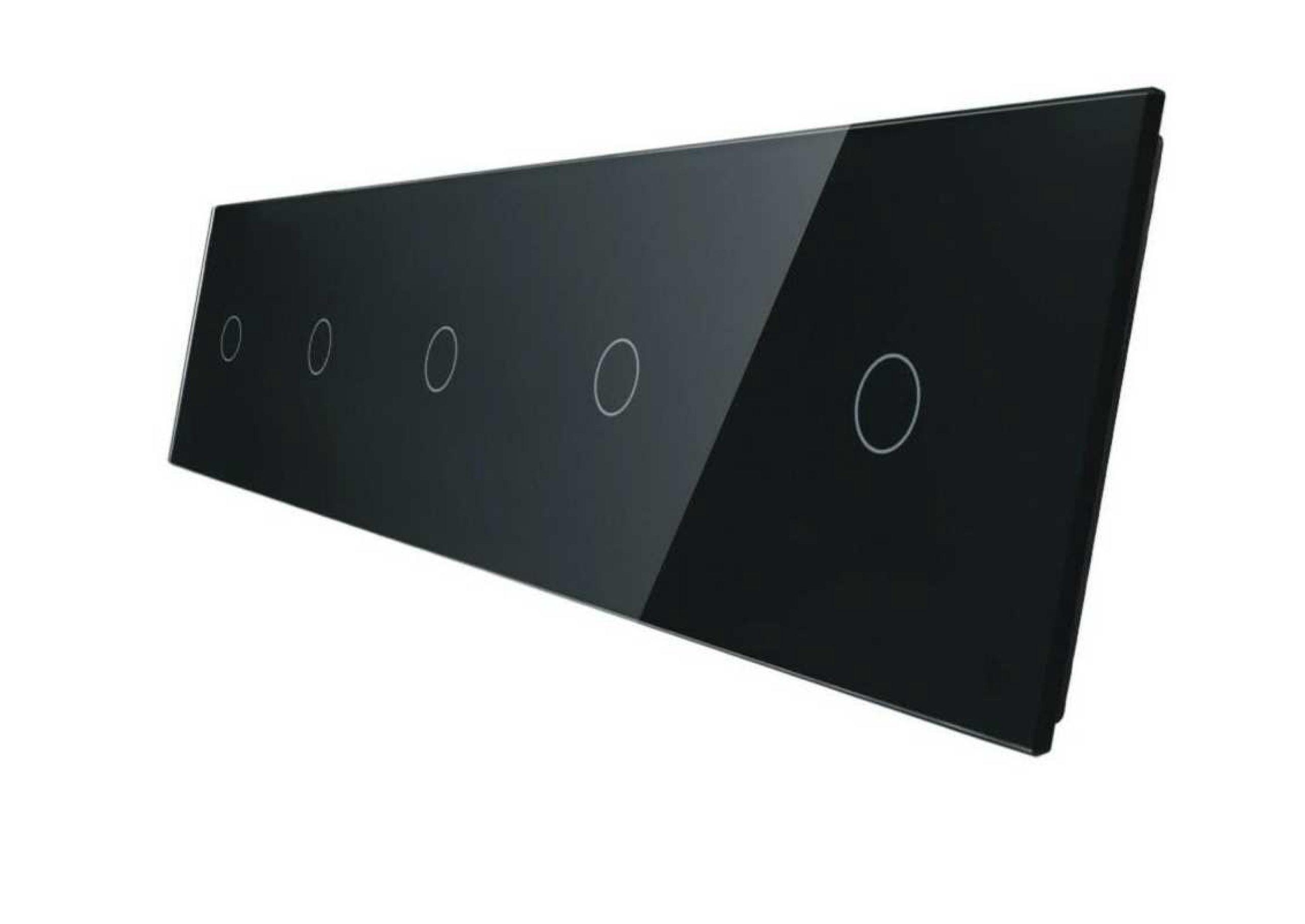 1+1+1+1+1 panele czarny