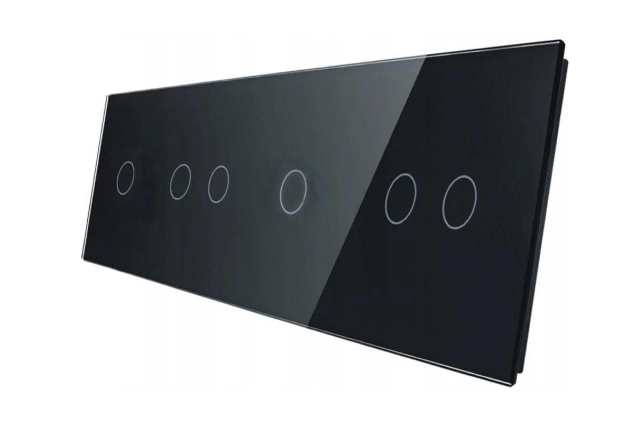 1+2+1+2 panel czarny