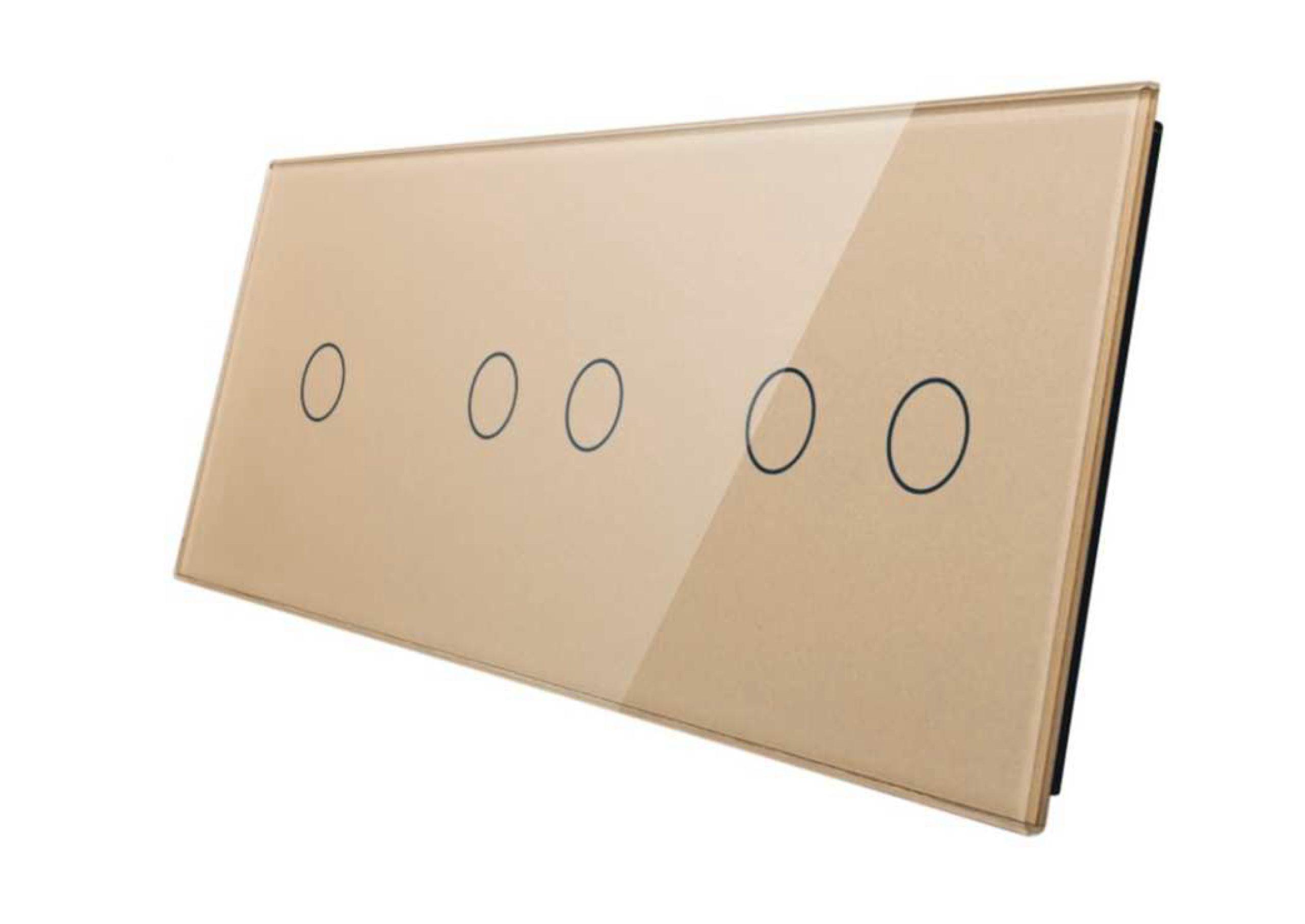 1+2+2 panel złoty