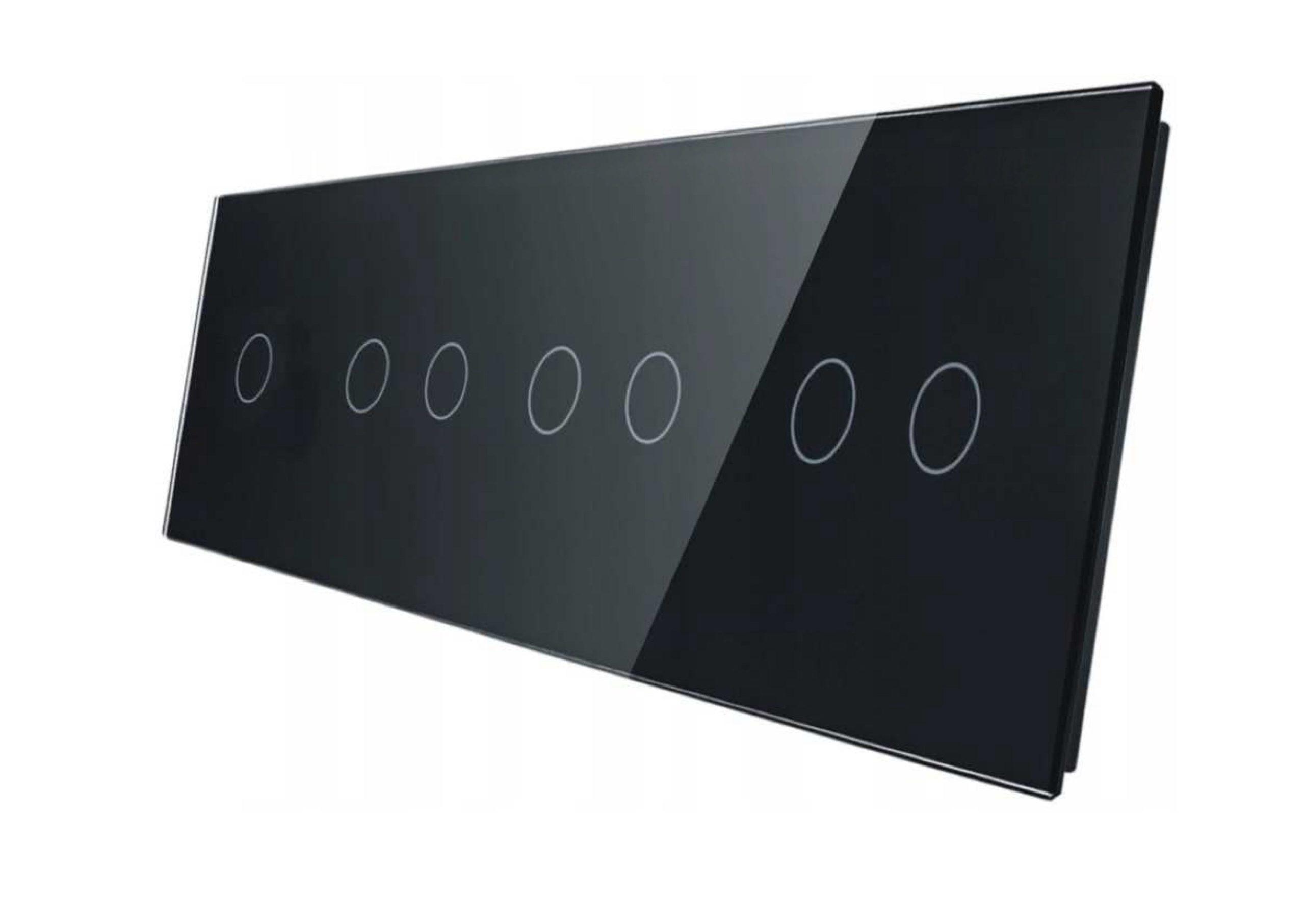 1+2+2+2 panel czarny