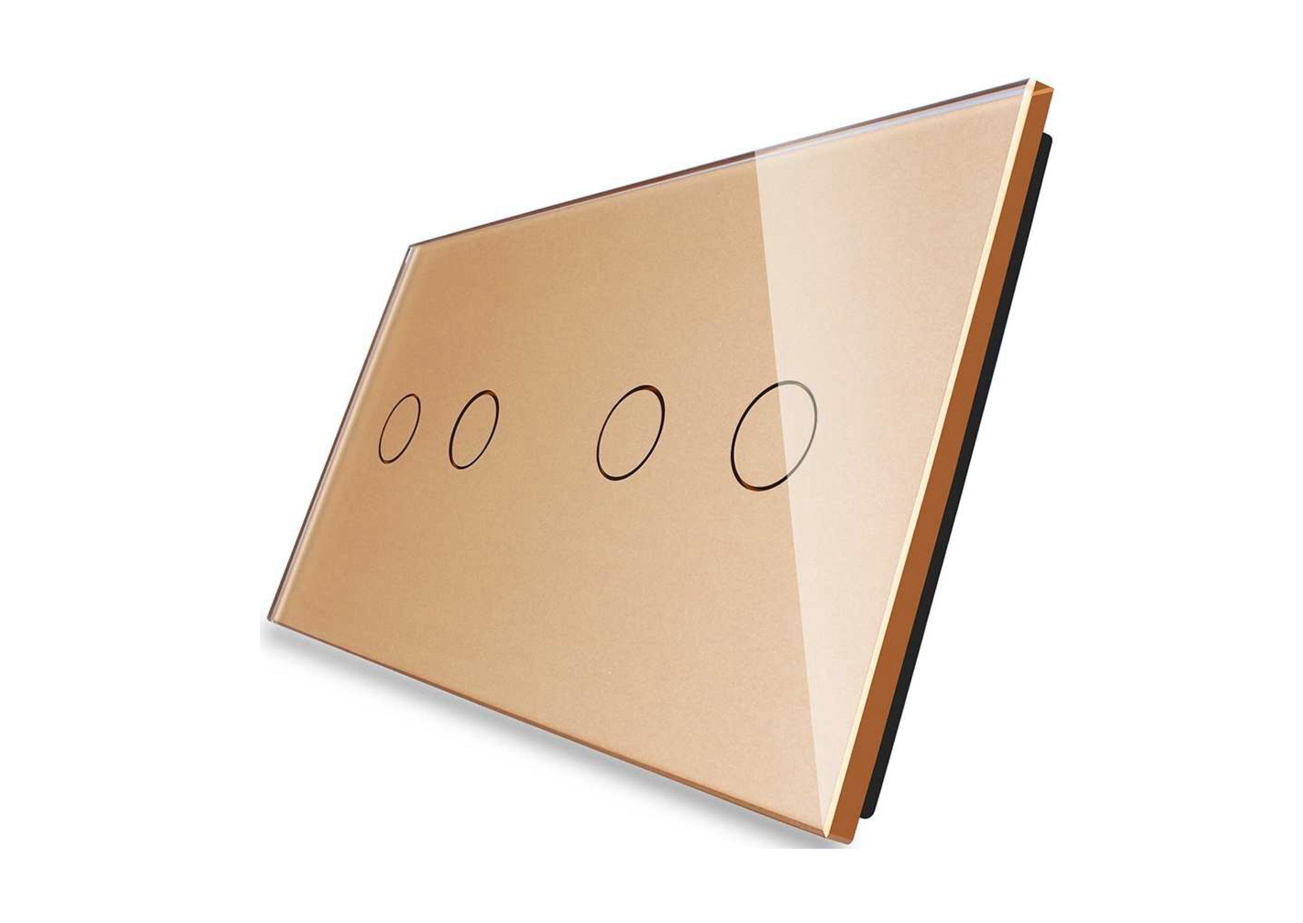 2+2 panel złoty