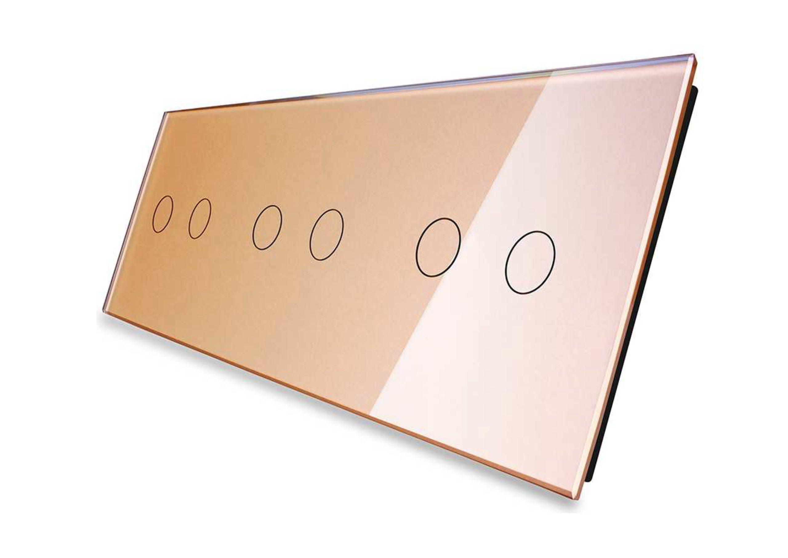 2+2+2 panel złoty
