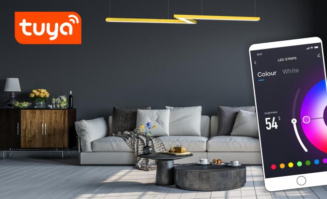 Dodaj sterowanie lampą przez aplikację TUYA