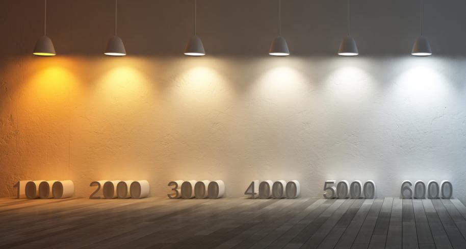 Porównanie kolorów barwy światła LED – Porady & Produkty