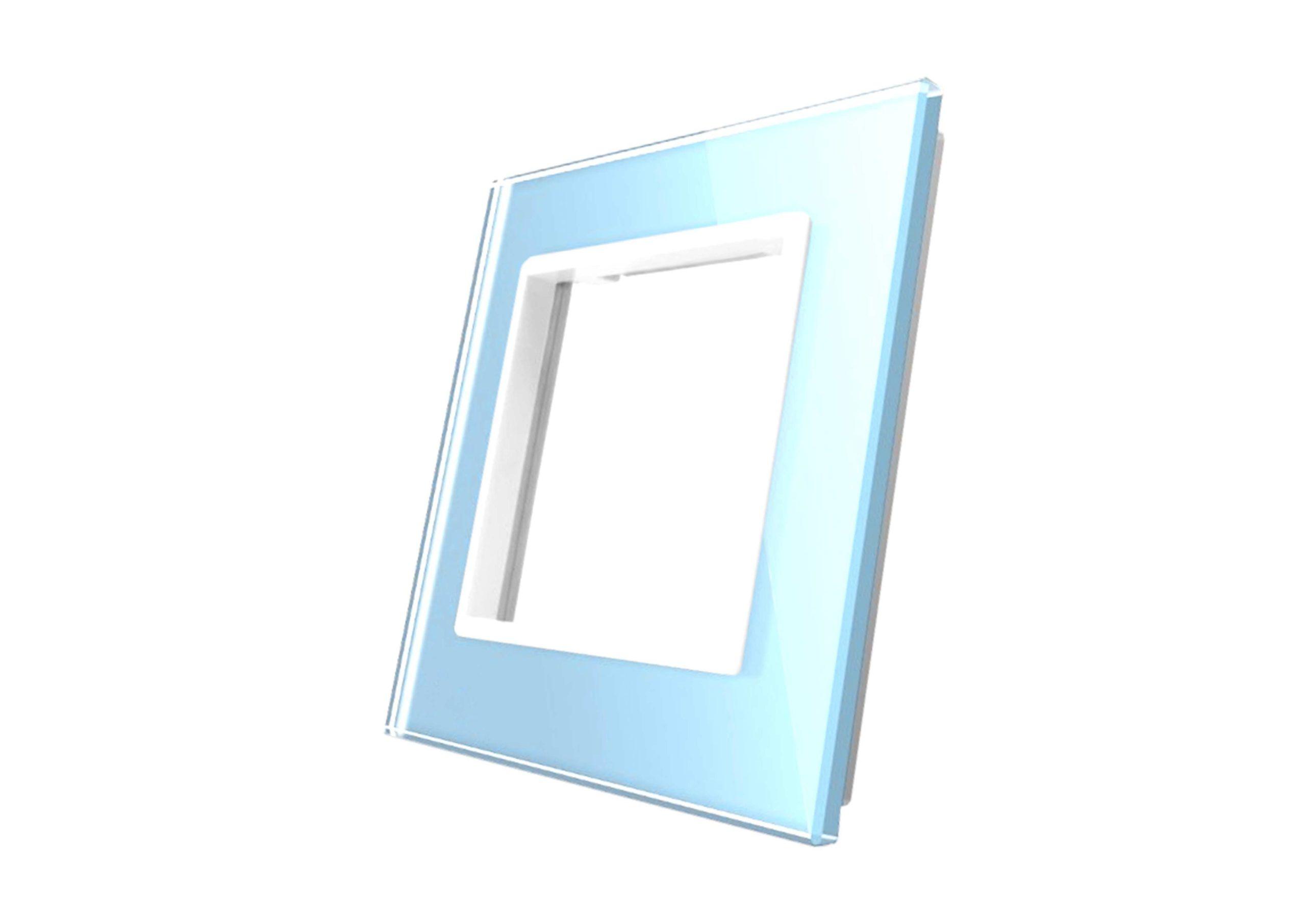 ramka niebieska