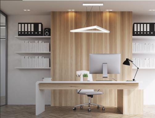 Lampy zoomLED® w aranżacji biurowej?